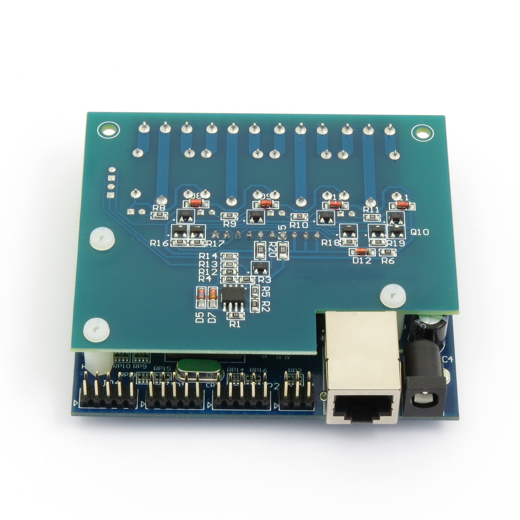 Internet/Ethernet Four Channel Relay Board