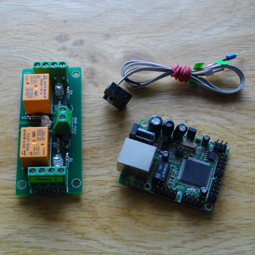 SNMP Controller and Relay Board