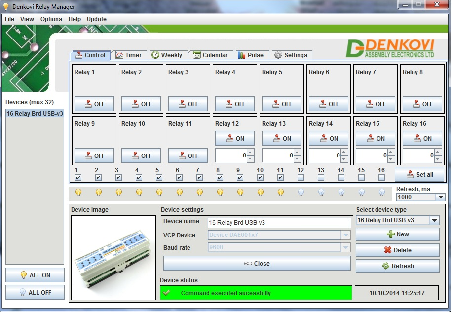 Denkovi Relay Manager Software (DRM Software)