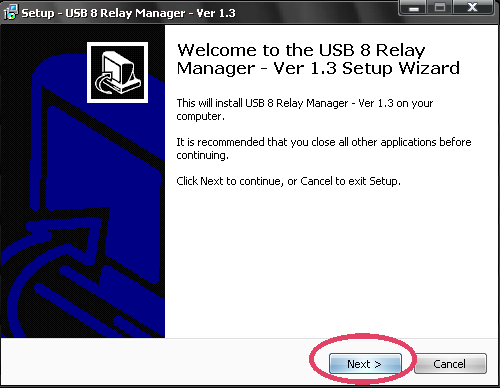 usb relay manager software