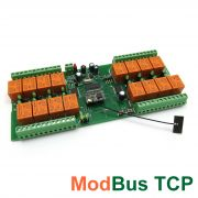 Wi-Fi 16 Relay Board - ModBus TCP