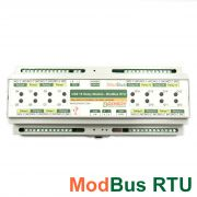USB 16 Relay Module - ModBus RTU, DIN RAIL BOX