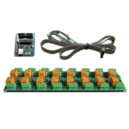 USB 16 Channel Relay Module - RS232 Controlled - ver.1