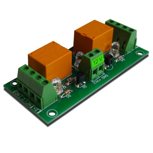2 Channel relay board for your Arduino or Raspberry PI - 12V