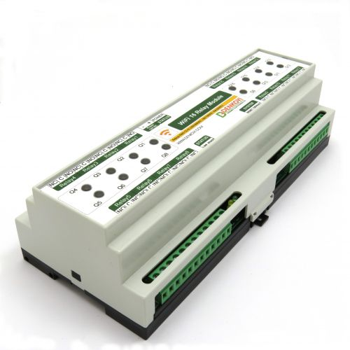 WiFi Relay Module BOX 16 Channels - Virtual Serial Port