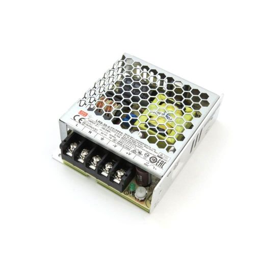 Mean Well LRS-35-5 Single Output Switching Power Supply 5V/7A Output