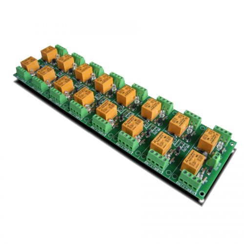 16 Channel relay board for your Arduino or Raspberry PI - 5V