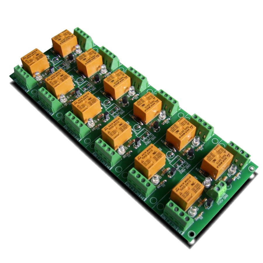 Relay Card 24v 12 Channels For Raspberry Pi Arduino Picavr Dpdt Channel Board Your Or