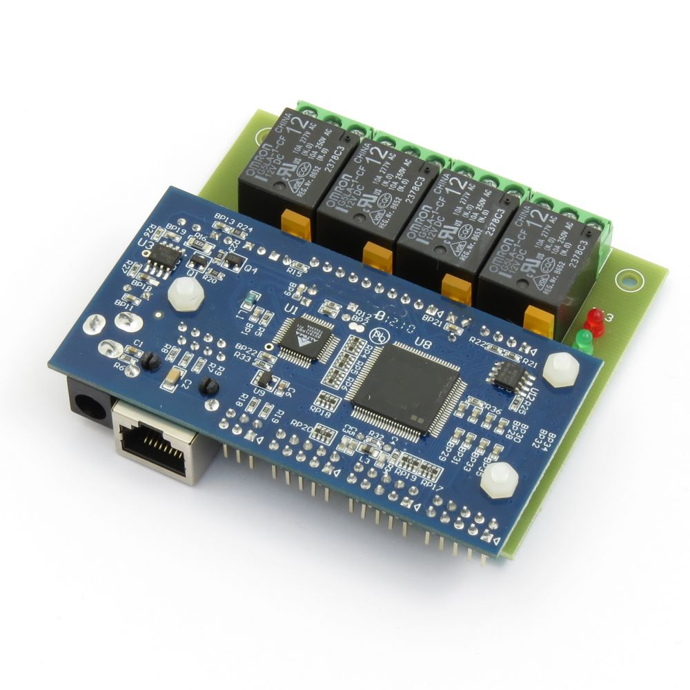 Snmp 4 Relay Card Web Server 8 Analog Inputs 8 8 Digital Io