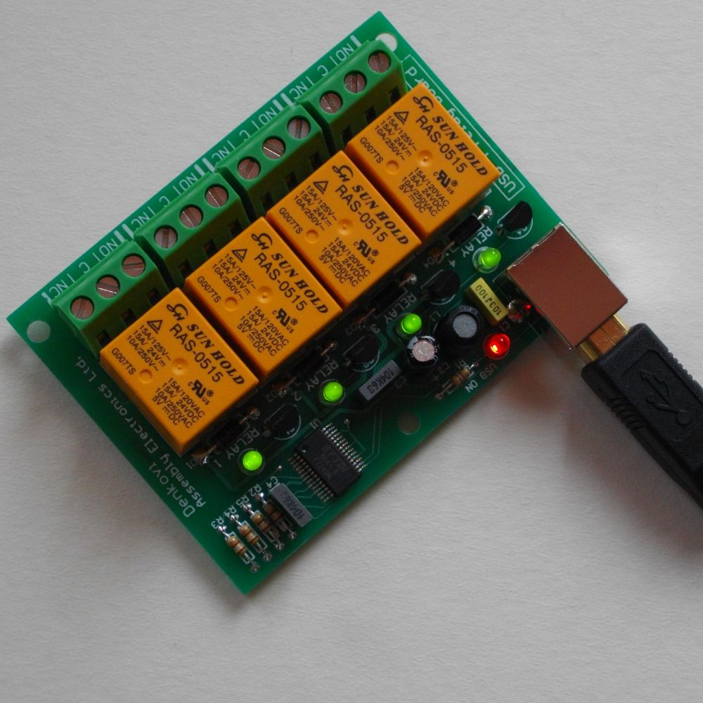 Usb Relay Board Circuit | #1 Wiring Diagram Source