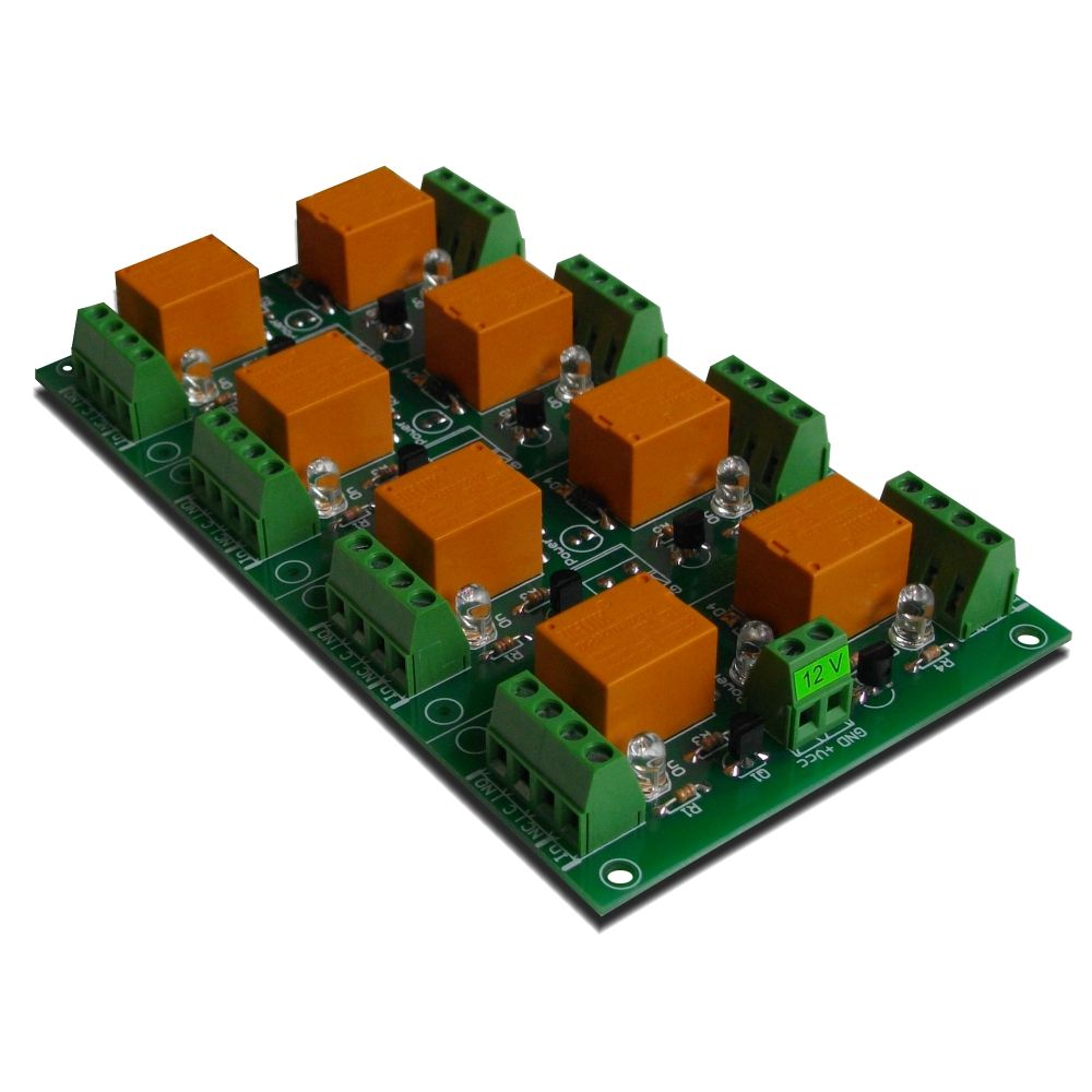 Relay Board 12v 8 Channels For Raspberry Pi Arduino Picavr Switch Purpose Channel Your Or