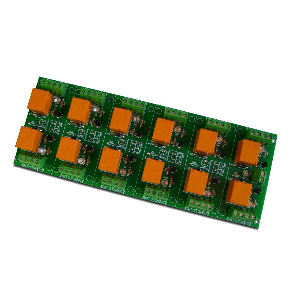 Relay Board 12v 12 Channels For Raspberry Pi Arduinopicavr Circuit Arduino Channel Your Or