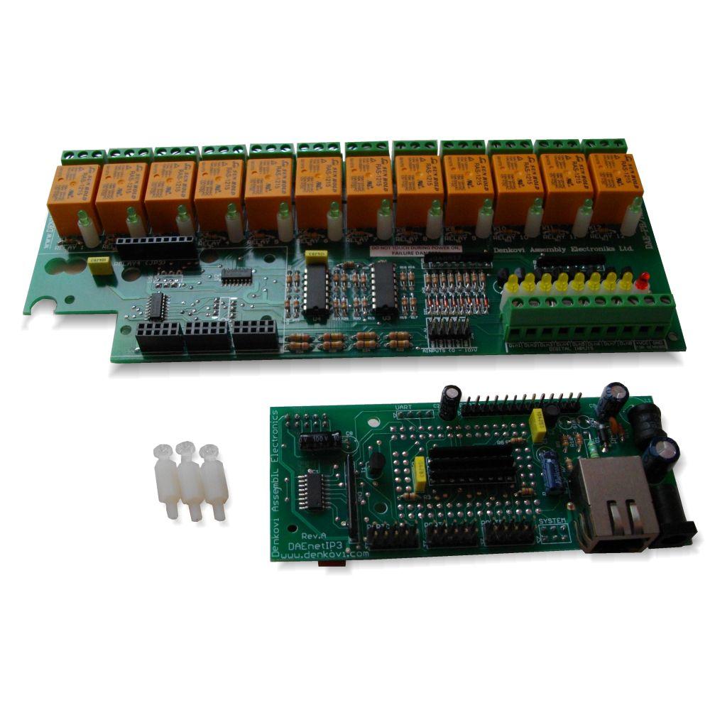 wi fi relay module 12 relays io web api smtp telnet wi fi 12 relay module web tcp ip telnet api e mails
