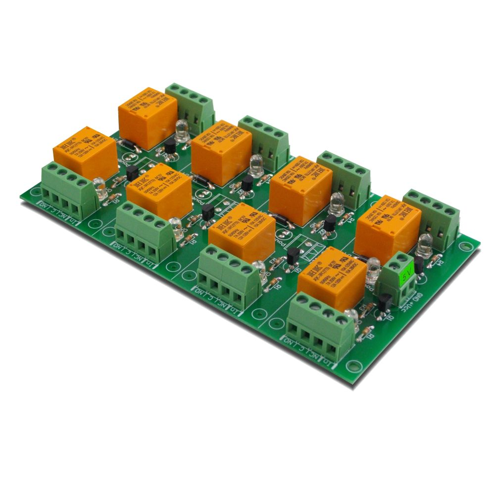 8 Relay Board For Your Pic Avr Arm 8051 Arduino Or Raspberry Pi 5v To 24v Power Supply Circuit Channel