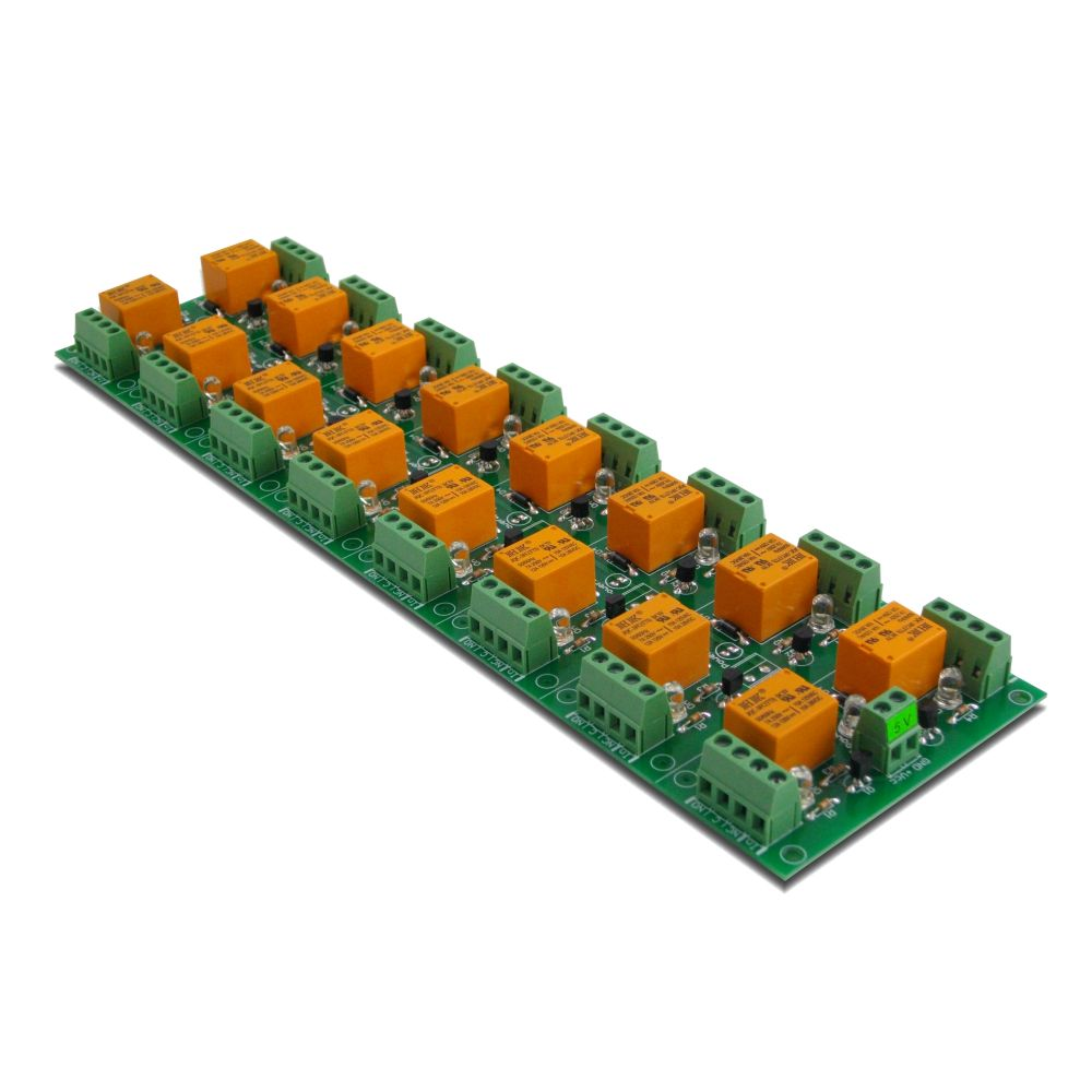 16 Channel relay board for your Arduino or Raspberry PI - 5V on