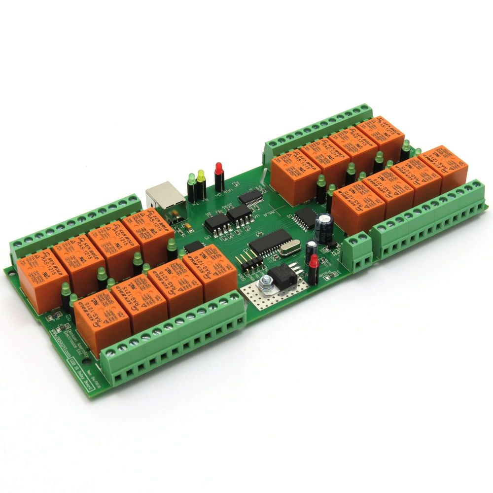 Usb 16 Channel Relay Board For Automation  Virtual (serial) Port