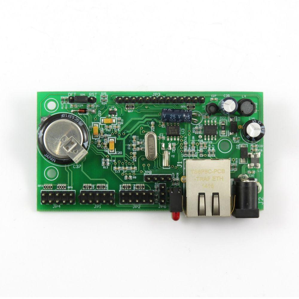 Daenetip4 Snmp Ethernet Controller With 34 Digital Analog I O Pcbofdigitaltemperaturesensorcircuitusinglm335z