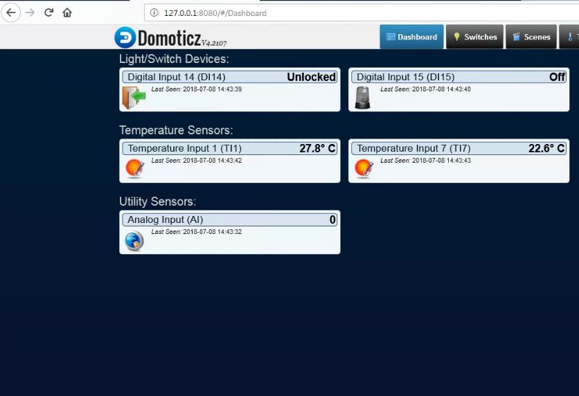 smartDEN Notifier - IoT Module with MQTT, eMail Alerts, XML/JSON API