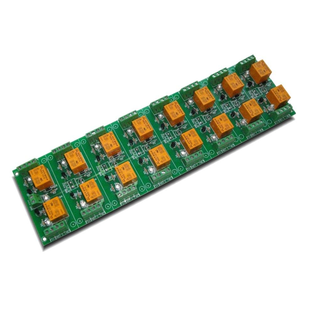 Relay Board 12v 16 Channels For Raspberry Pi Arduinopicavr Circuit Channel Your Arduino Or