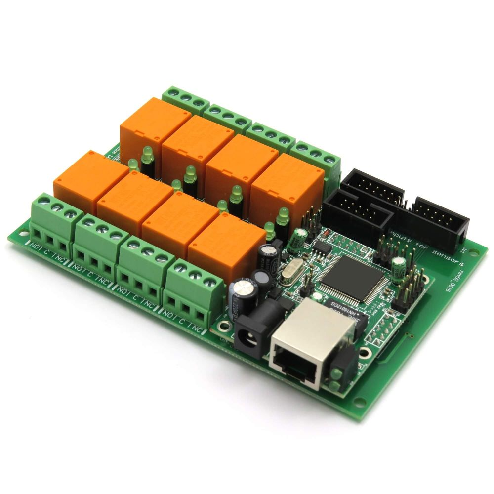 Snmp 8 Relay Board For Temperature Measurement Lm35dz