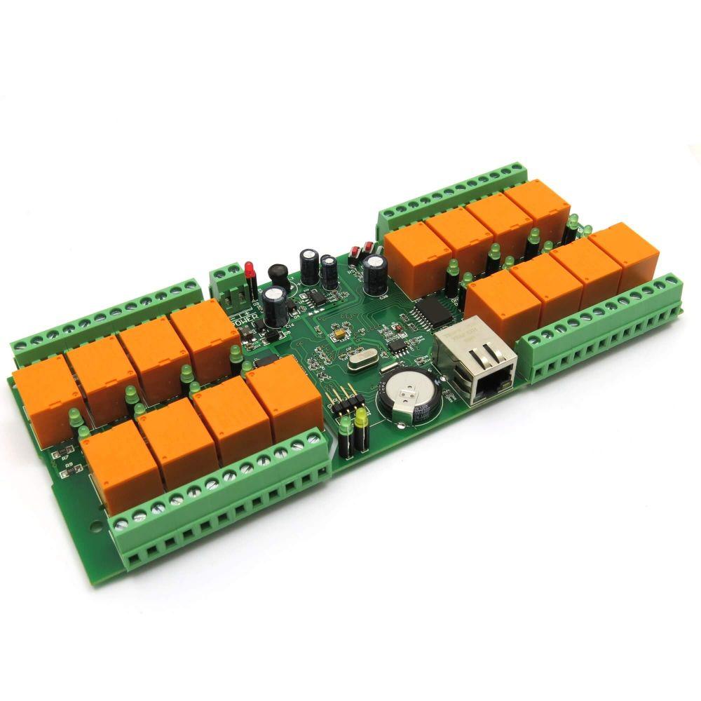smartDEN LAN Ethernet 16 Relay Board