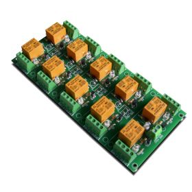 10 Relay Way Output Module (Board) for your PIC, AVR Project - 24V