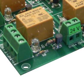 16 Channel relay board for your Arduino or Raspberry PI - 24V