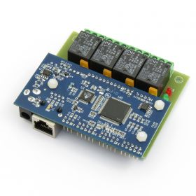 Web SNMP controlled 4 Relay Board