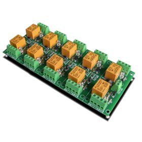 10 Relay Way Output Module (Board) for your PIC, AVR Project - 5V
