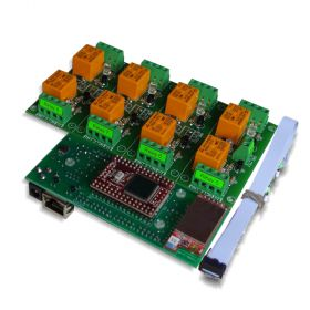 Wi-Fi Wireless 8 Channel Relay Board - Web, TCP/IP, Telnet, HTTP API, E-mails