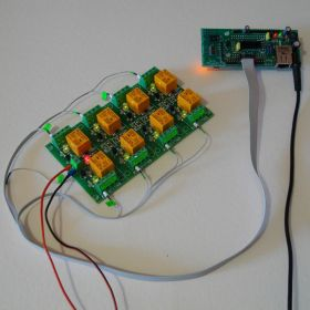 Wi-Fi Wireless Relay Board 8 Channels - Web, Telnet, HTTP API, E-mails