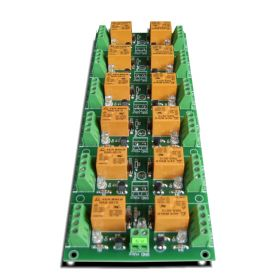 12 Channel relay board for your Arduino or Raspberry PI - 5V