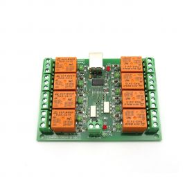 USB Eight Channel Relay Board for Automation