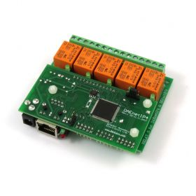 Ethernet Relay Card 5 Channel - SNMP, HTTP/XML API, Real Time Clock