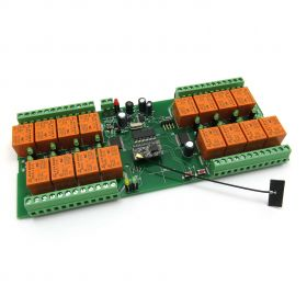 WiFi Relay Board PCB 16 Channels - Virtual Serial Port