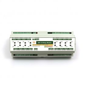 WiFi 16 Relay Module, TCP/IP, UDP, Virtual Serial Port - DIN BOX