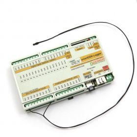 Ethernet Temperature Logger / Tracker with SD Card and 32 Inputs - smartDEN