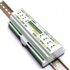 Wi-Fi 16 Relay Module - ModBus TCP, DIN RAIL BOX