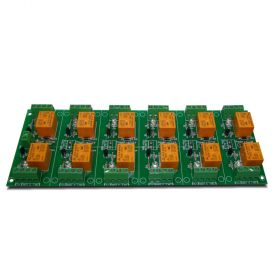 12 Channel relay board for your Arduino or Raspberry PI - 12V
