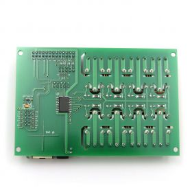 SNMP 8 Relay Module for Temperature Measurement LM35DZ with DAEnetIP2v2