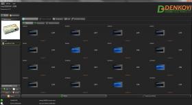 smartDEN IoT Internet / Ethernet 32 Inputs Module - DIN Rail BOX