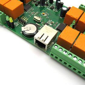 smartDEN Ethernet 16 Relay Module ModBus-TCP PCB