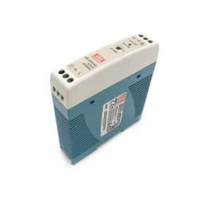 Mean Well MDR-20-5 Industrial DIN Rail Power Supply 5V/2.4A Out