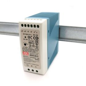 Mean Well MDR-60-5 Industrial DIN Rail Power Supply 5V/10A Out