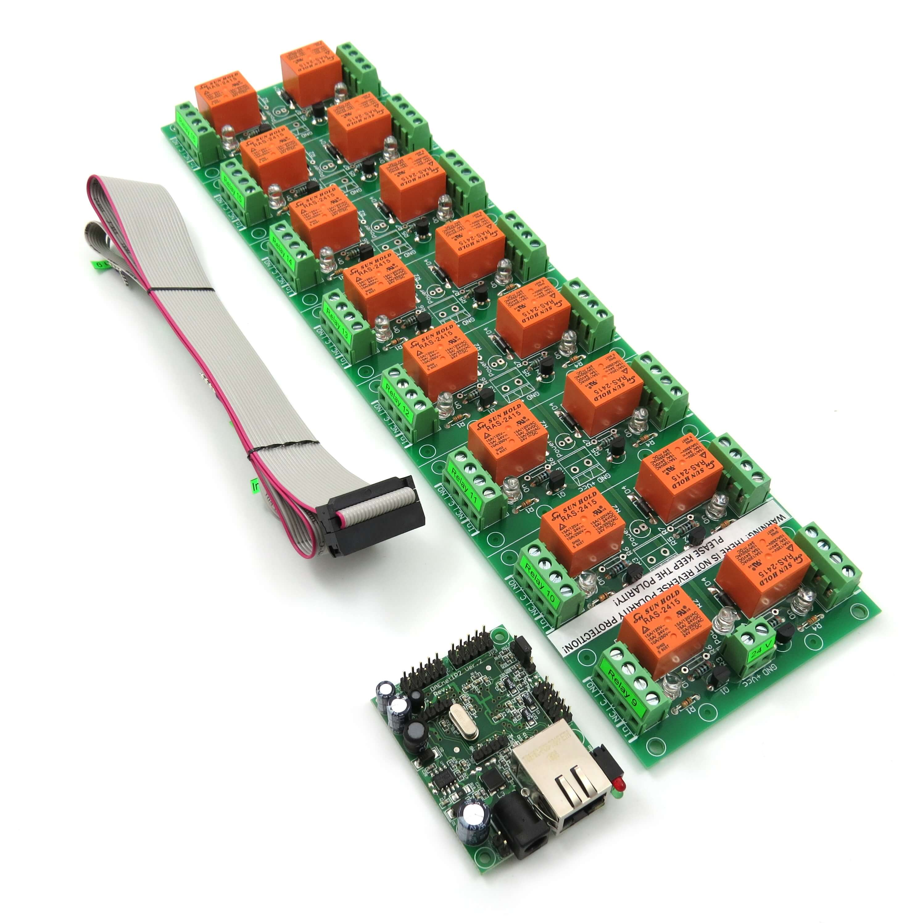 2 Channel Ethernet IP Network Relay Switch Module Internet Watchdog Remote Control Module