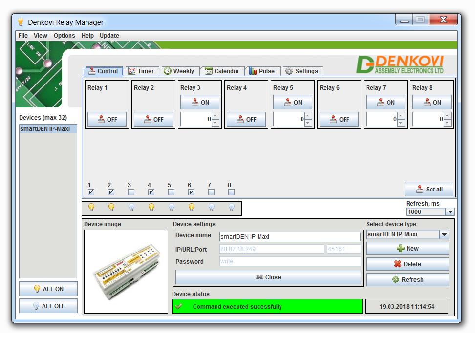 Détails sur Domoticz/openhab pris en charge Internet/Ethernet relais I/O  Module De Contrôleur- afficher le titre d'origine