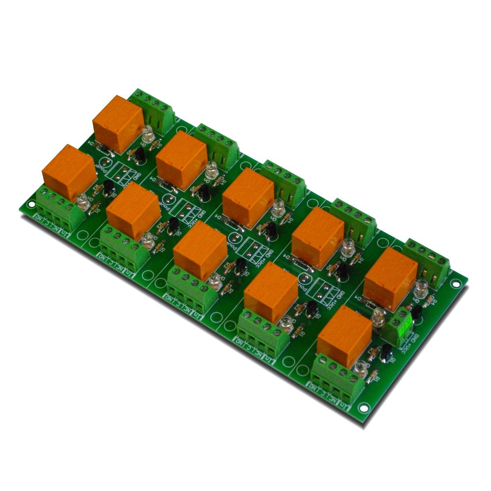 Relay Board 12v 10 Channels For Raspberry Pi Arduinopicavr Spdt Price Channel Your Arduino Or