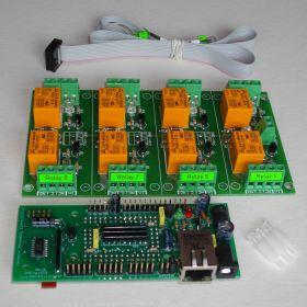 Wi-Fi Wireless Relay Board 8 Channels - Web, Telnet, HTTP API, E-mails