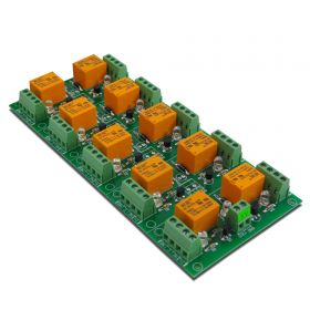 10 Channel relay board for your Arduino or Raspberry PI - 5V
