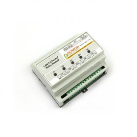Ethernet Relay Card 5 Channel - SNMP, HTTP/XML API, DIN BOX